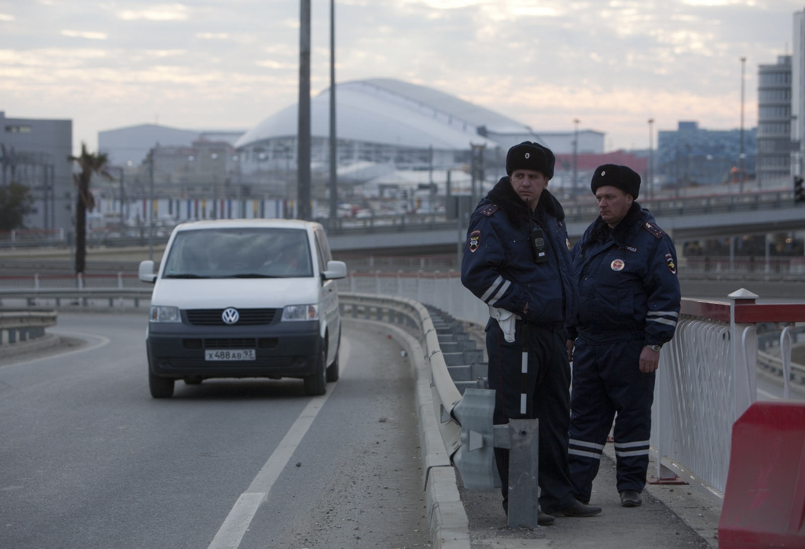 Russian traffic police
