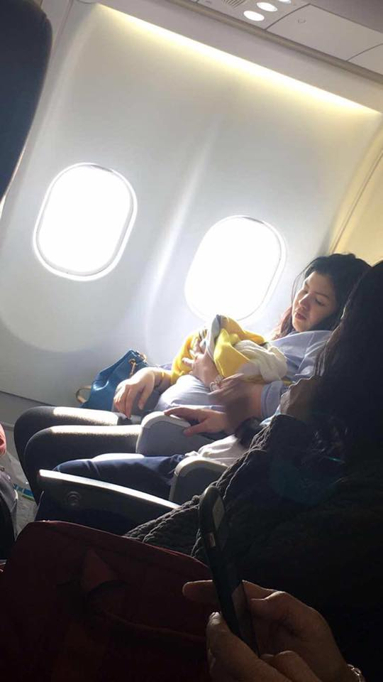 Cebu Pacific baby girl born mid-flight