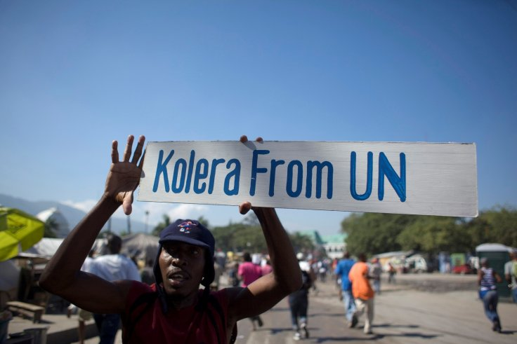 Haiti Cholera UN