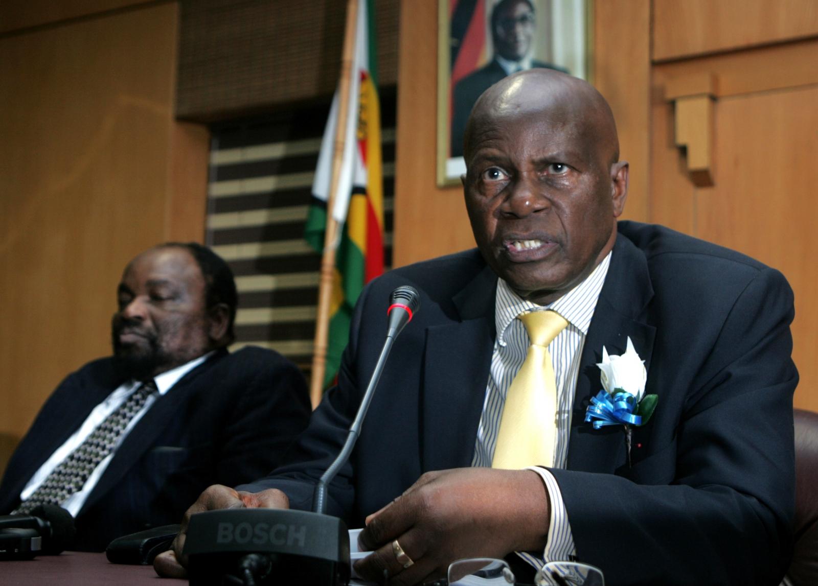 Zimbabwe minister Patrick Chinamasa