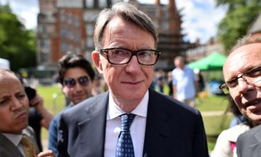 Former cabinet minister Peter Mandelson