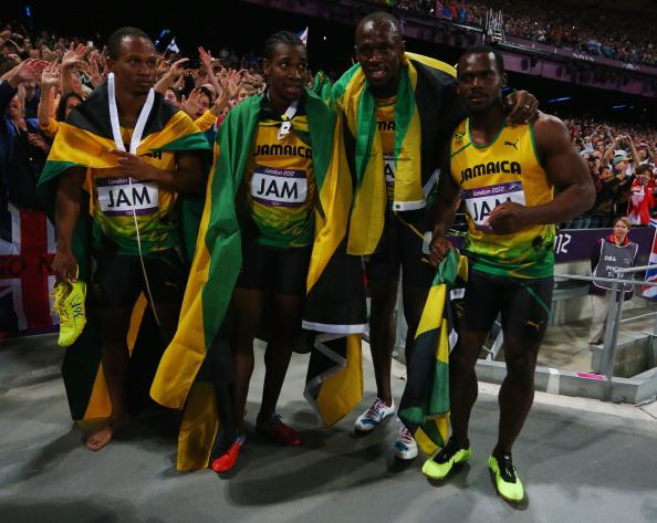jamaica mes 4X100m
