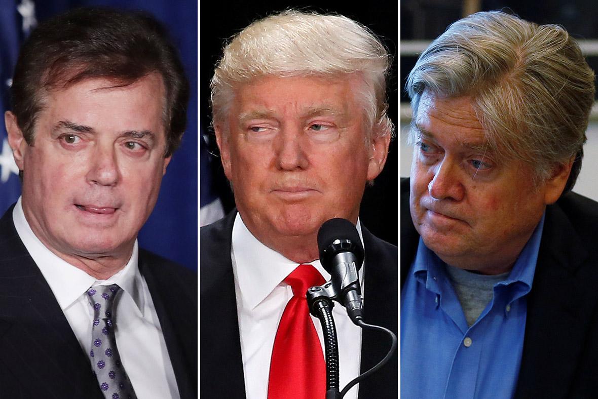 Manafort Trump Bannon