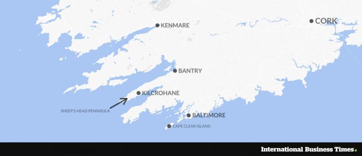 West Cork map