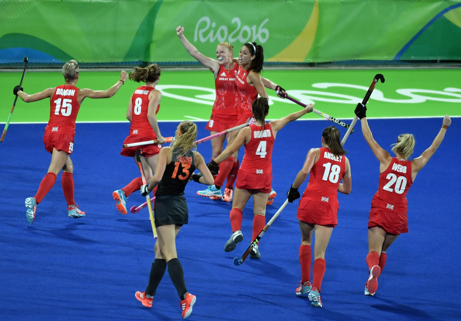 Great Britain win women's Olympic hockey title after shoot-out drama