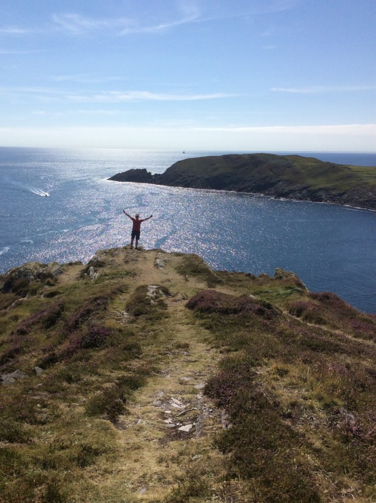 Micheal Coughlan on Cape Clear