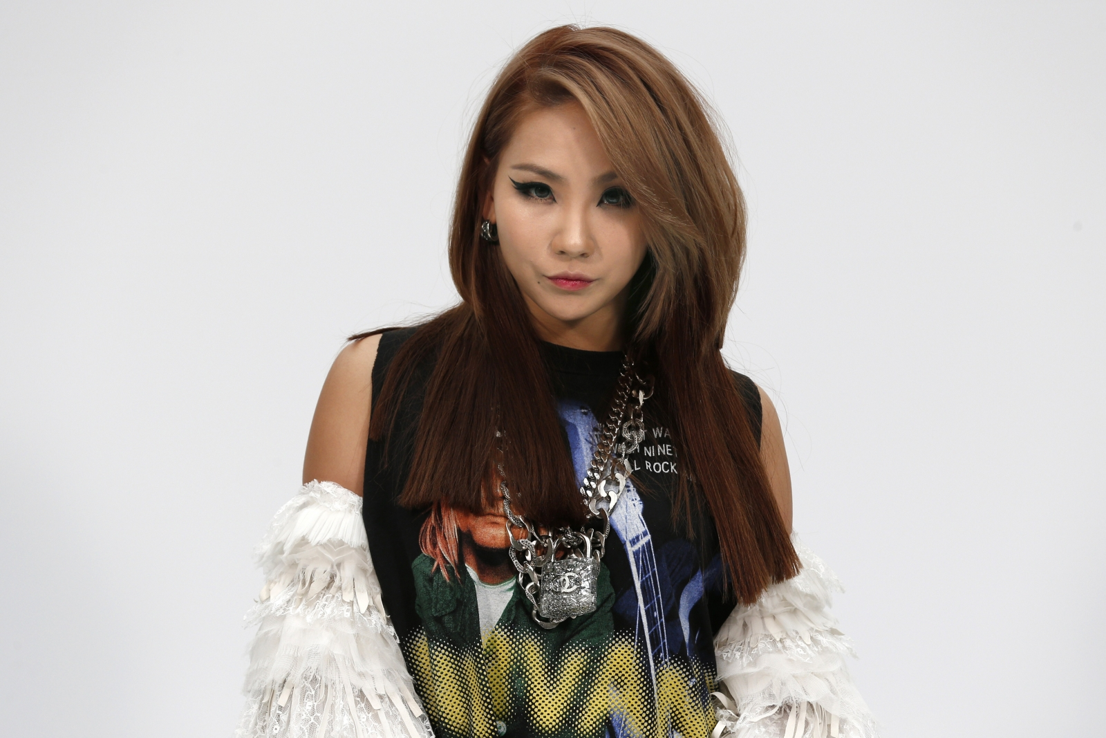South Korean K-Pop singer CL from 2NE1