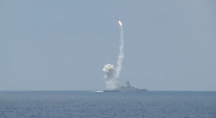 Russia missile strike on Aleppo, Syria
