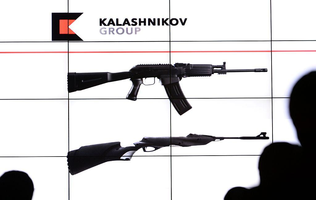 Replica kalashnikov assault rifles will be soldatMoscow'