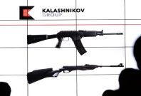 Replica kalashnikov assault rifles will be soldatMoscow'