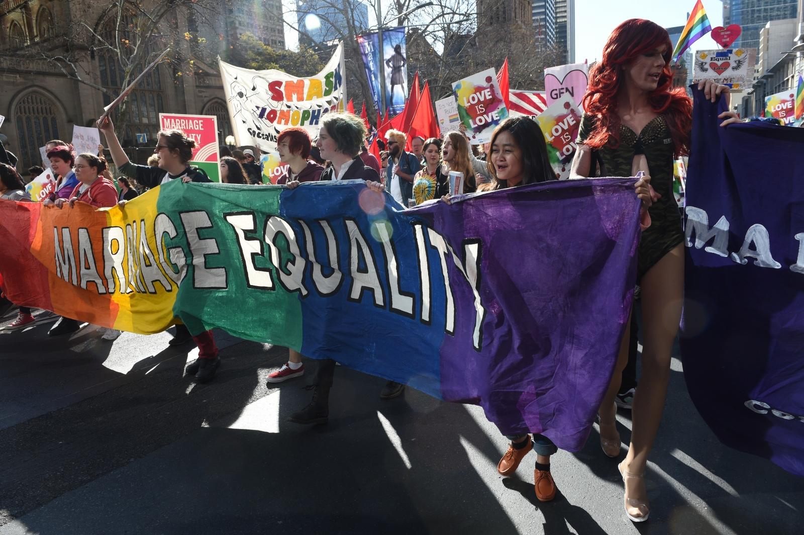 Australia same sex marriage