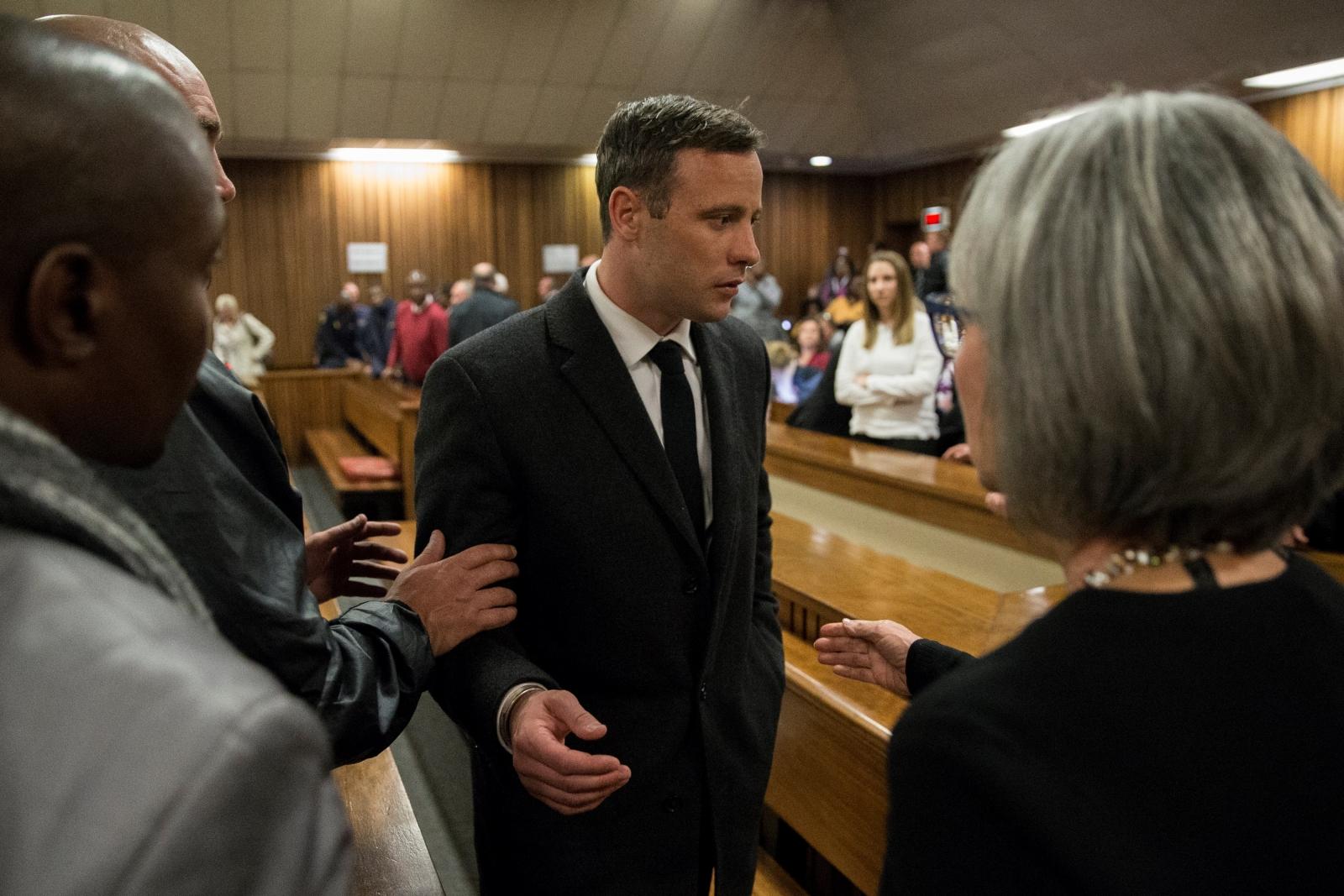 Oscar Pistorius at trial