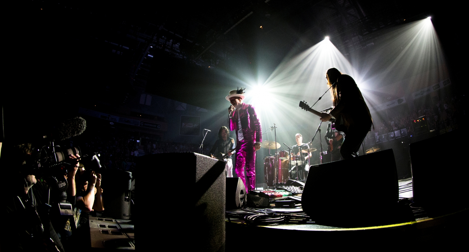 Tragically Hip play in Victoria