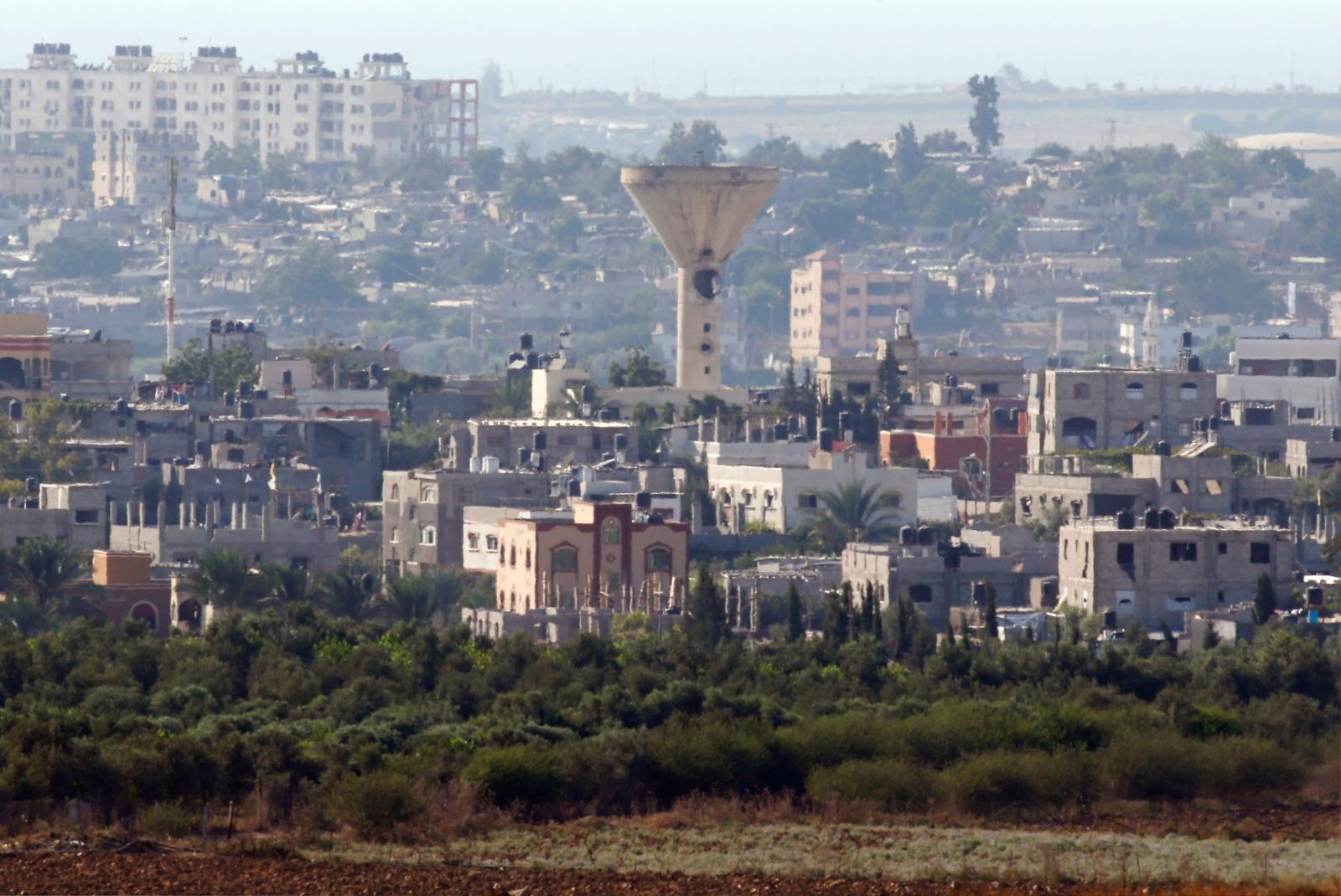 Water tanker in Gaza