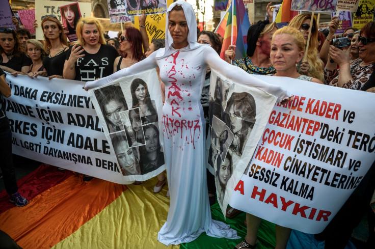 transgender activist Hande Kader