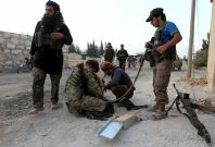 Syria rebel forces Isis