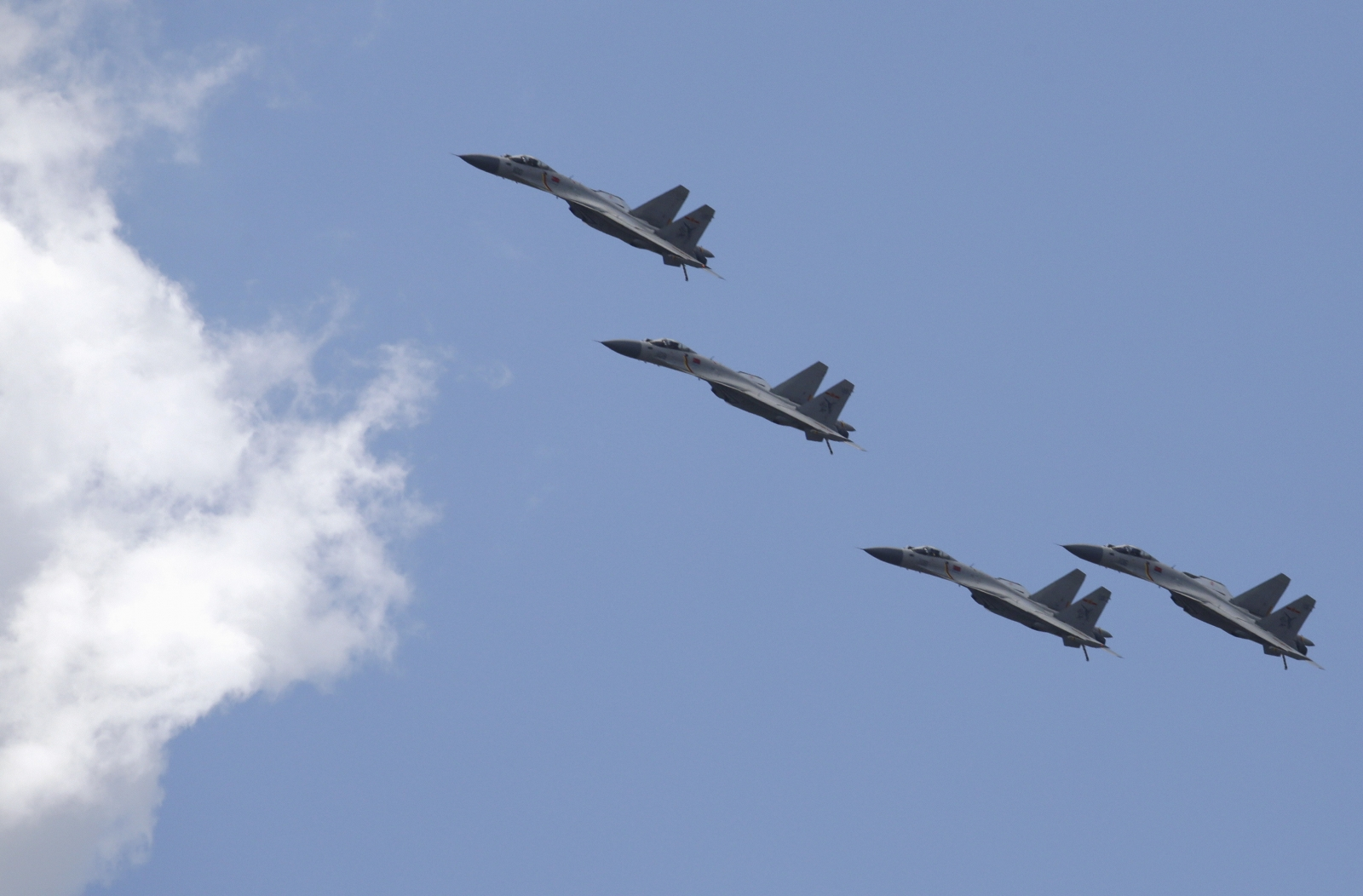 South Korea scrambles jets against China