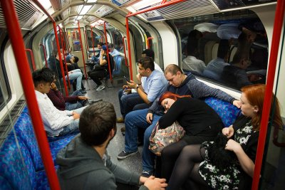 night tube London Underground