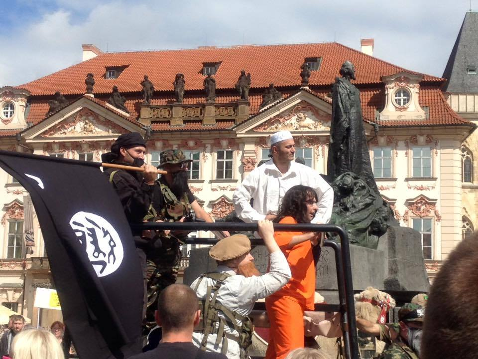 Fake Isis attack Prague