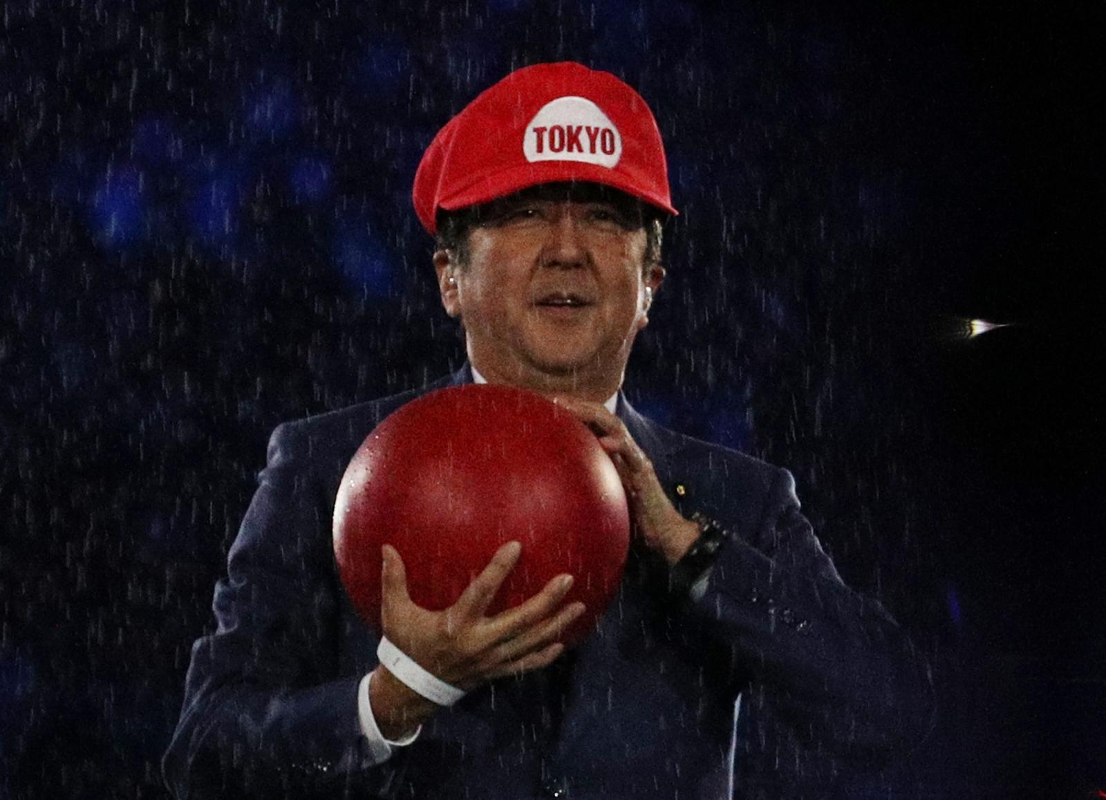 Shinzo Abe Tokyo 2020 Mario 2