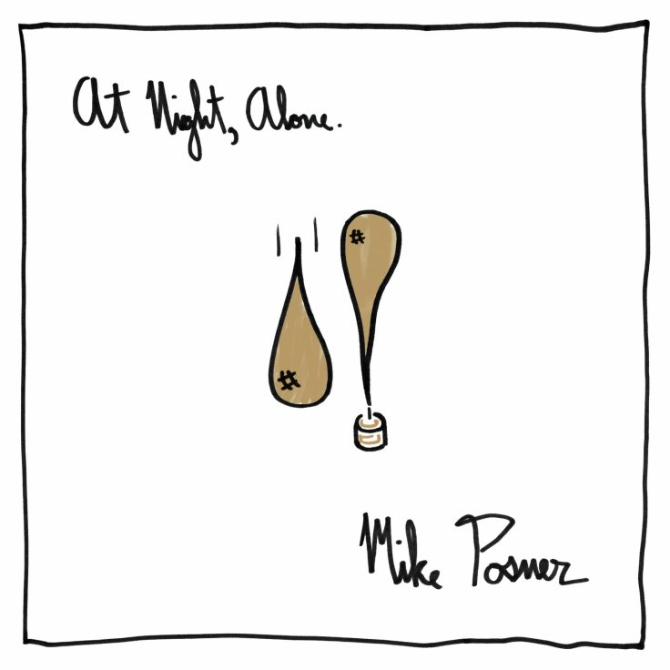 Mike Posner Night, Alone album