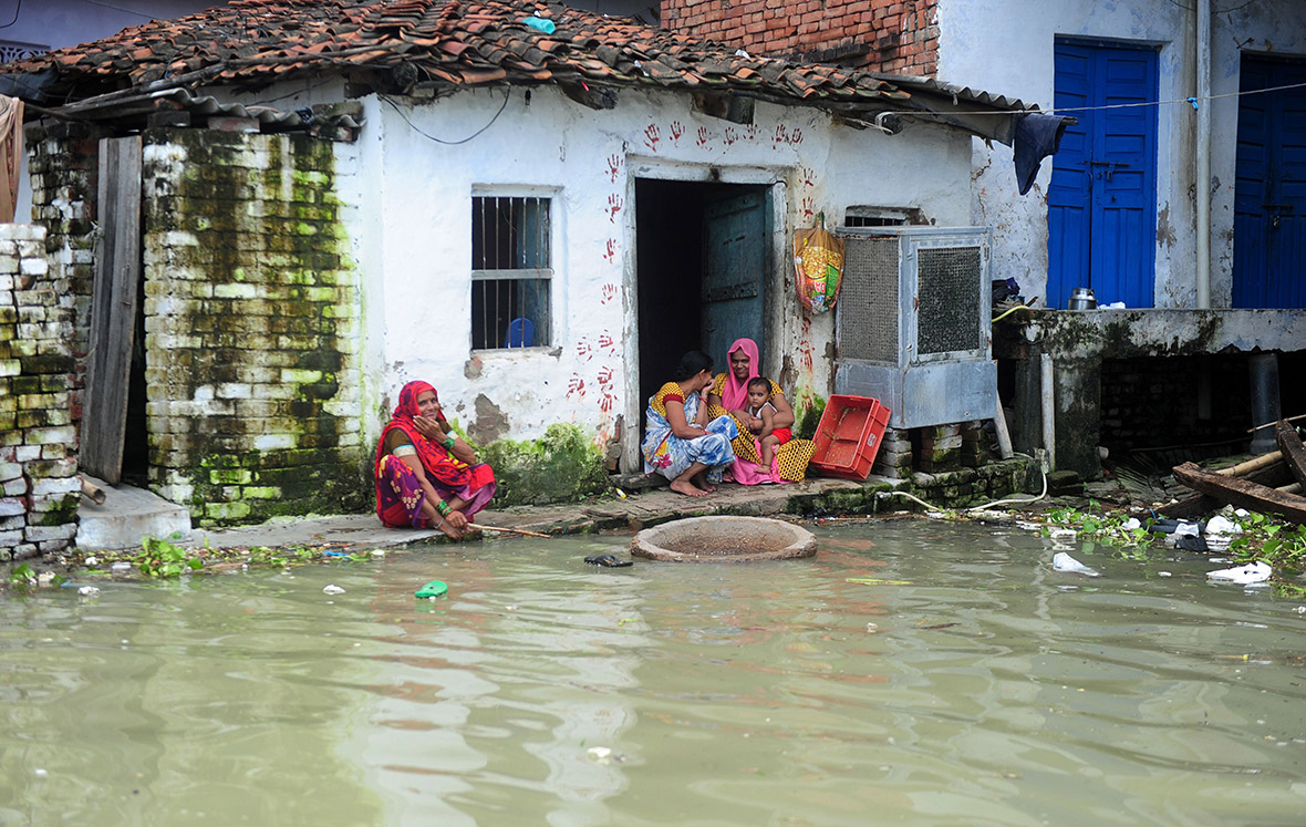 India Photos Of Monsoon Floods In Allahabad And Bihar As