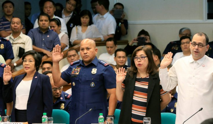 Philippine National Police (PNP) Director General Ronald Dela Rosa