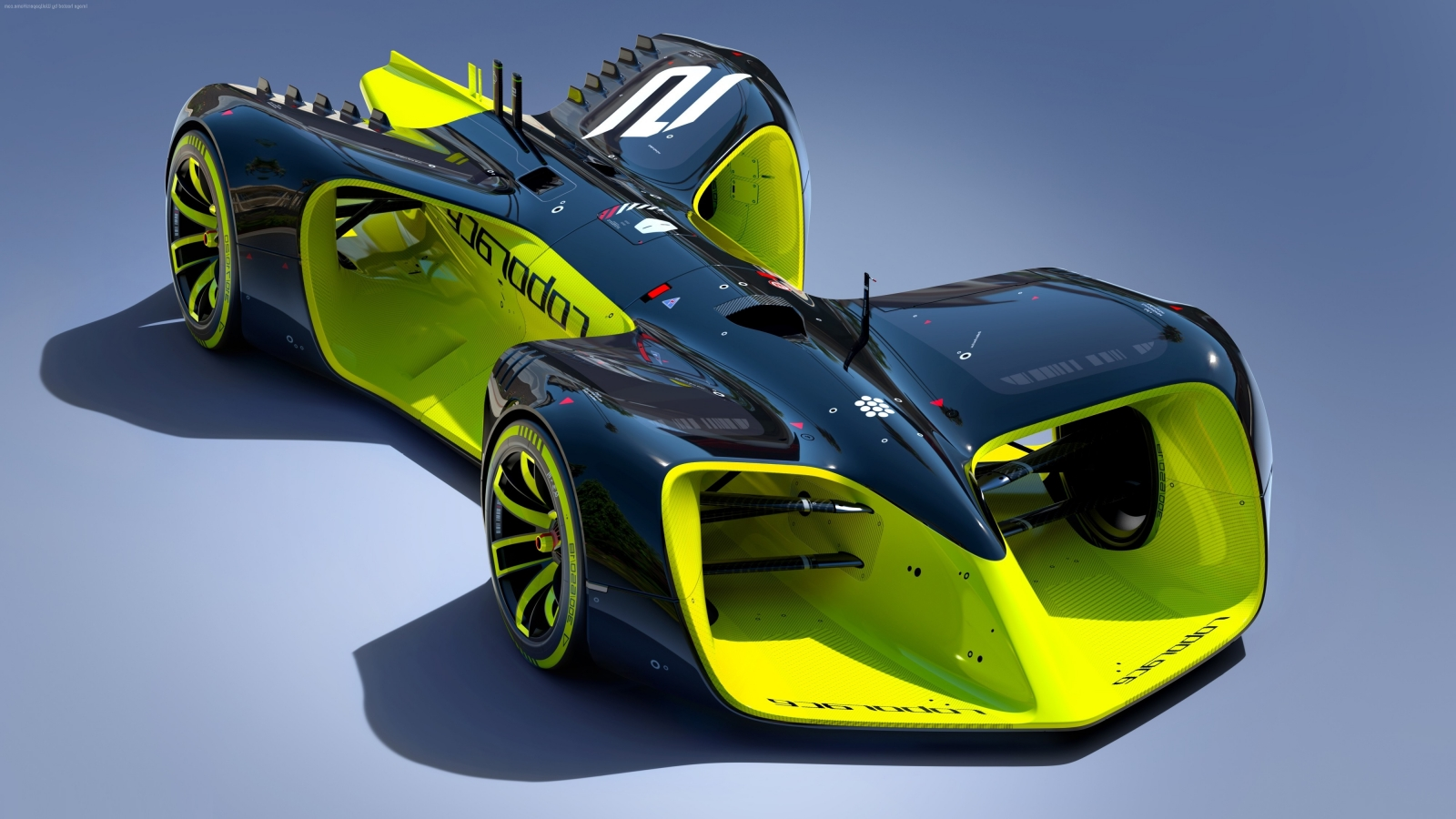 The gorgeous Roborace DevBot hardly even looks like a real car