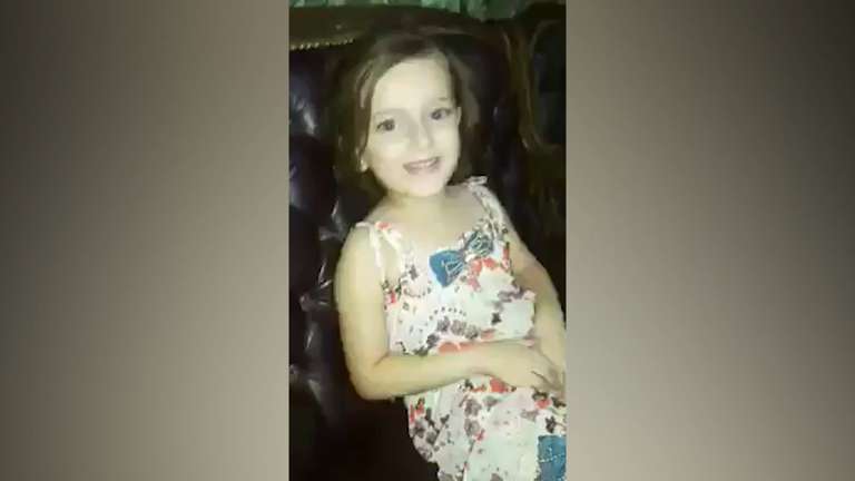 Syrian girls song interrupted by barrel bomb