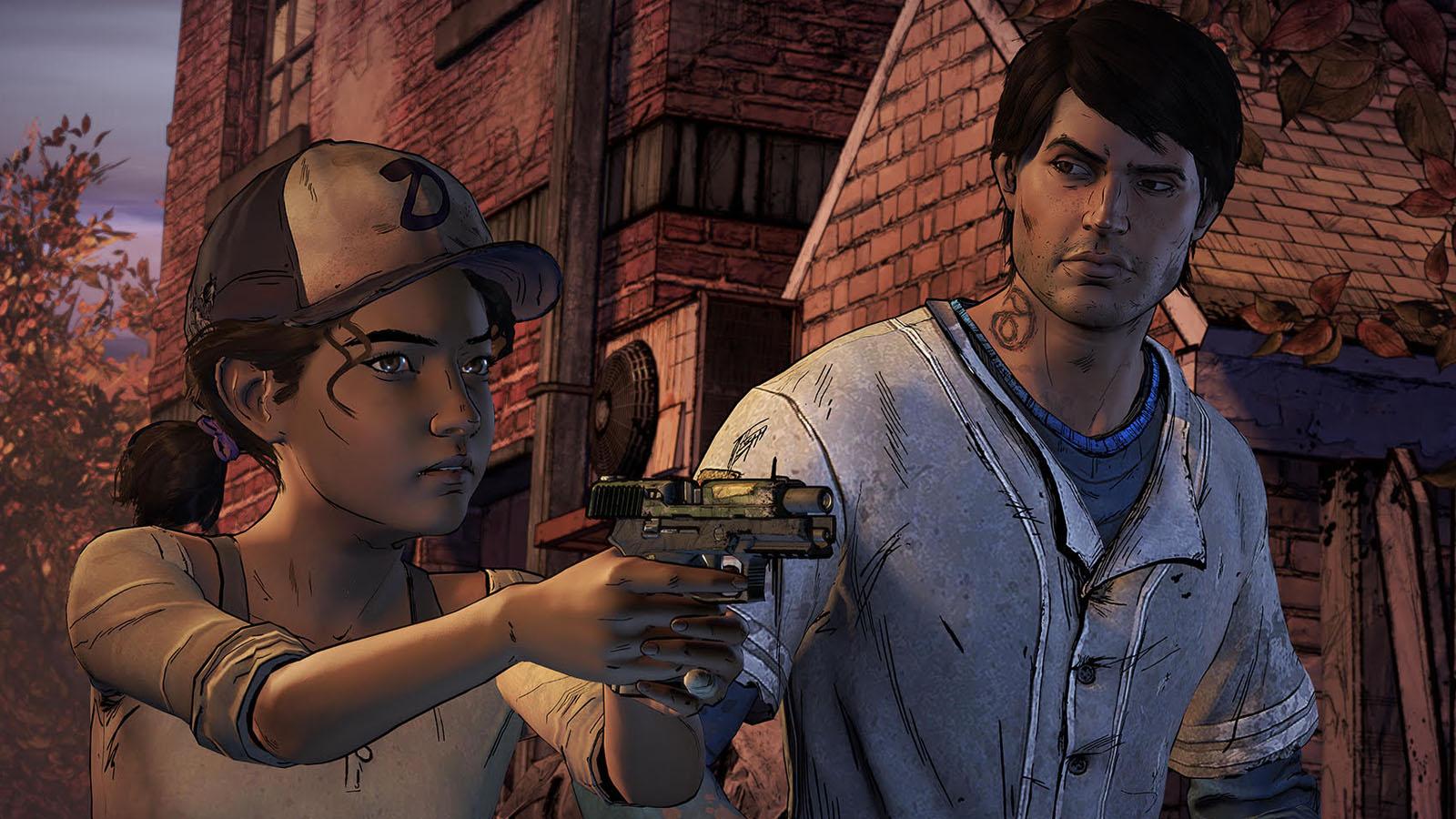 Walking Dead Season 3 Telltale Clem Javier