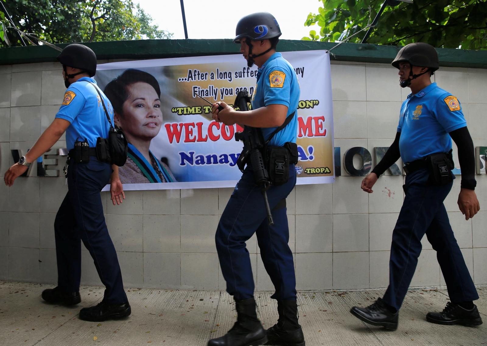 Philippines police
