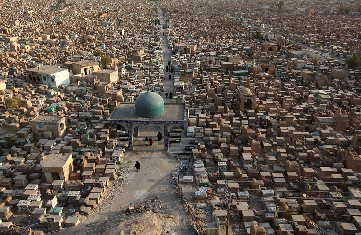 Najaf cemetery Wadi al-Salam