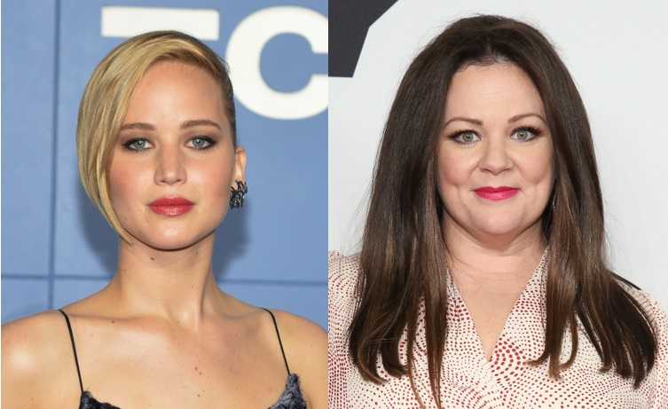 Jennifer Lawrence and Melissa McCarthy