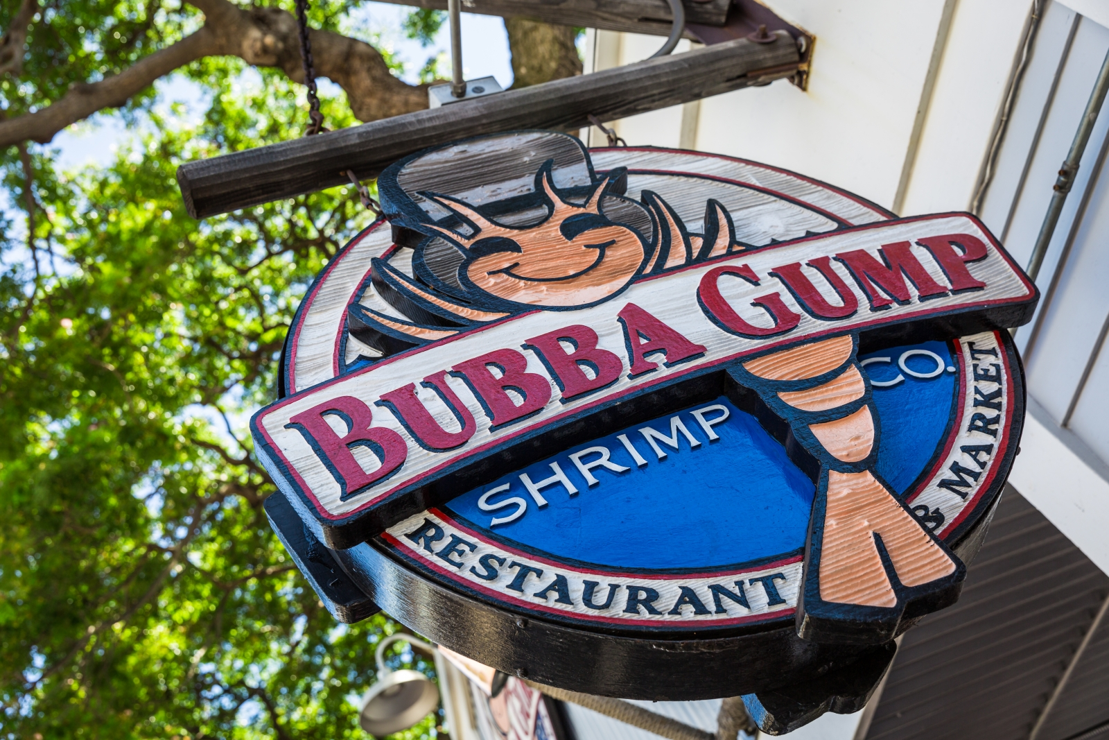 Bubba Gump Shrimp Co sign