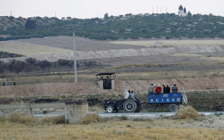 Turkey anti Isis operation Syria border