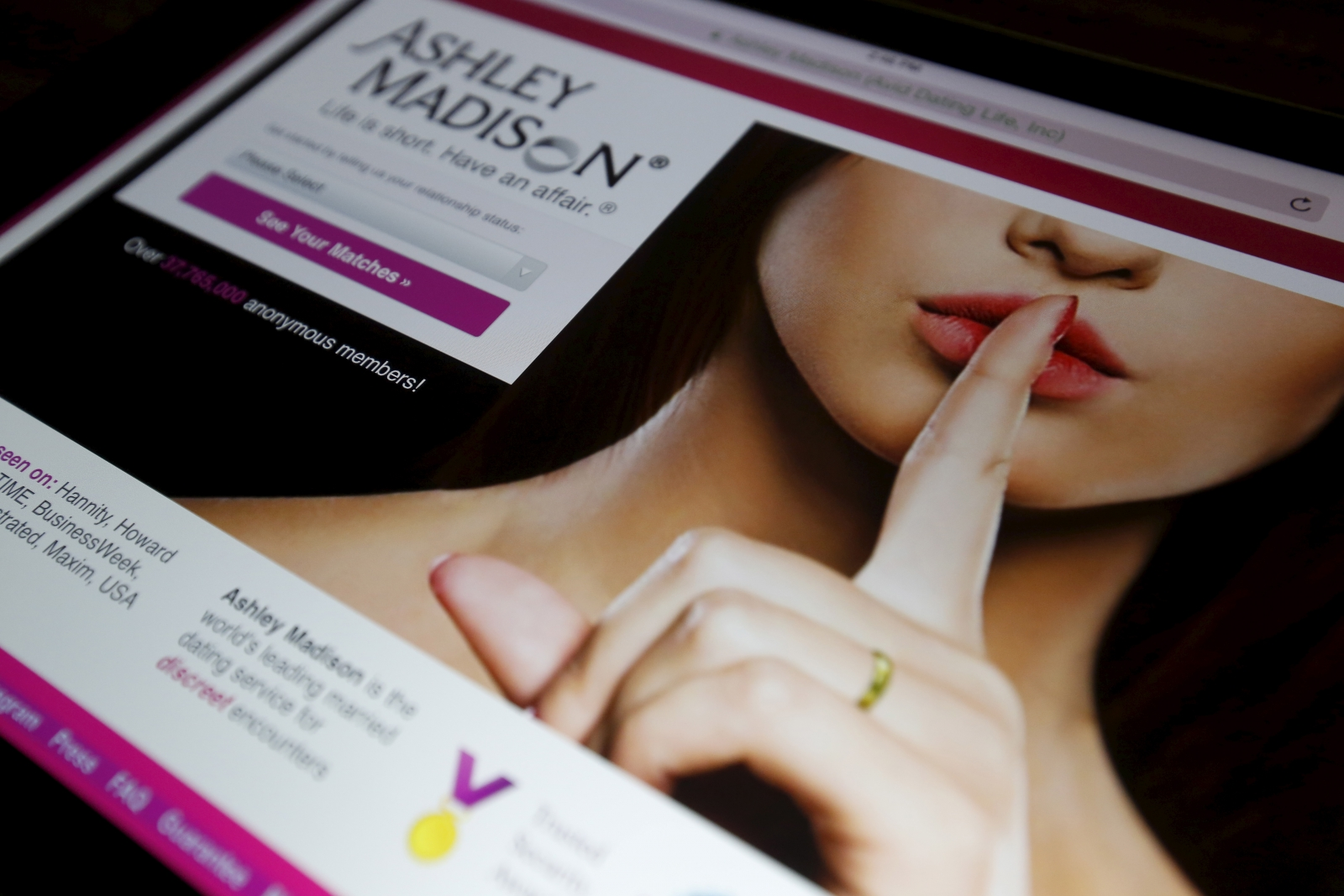 how to find someone on ashley madison