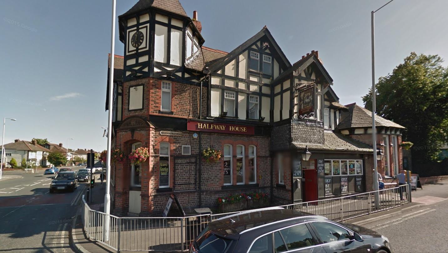 Halfway House pub in Prenton