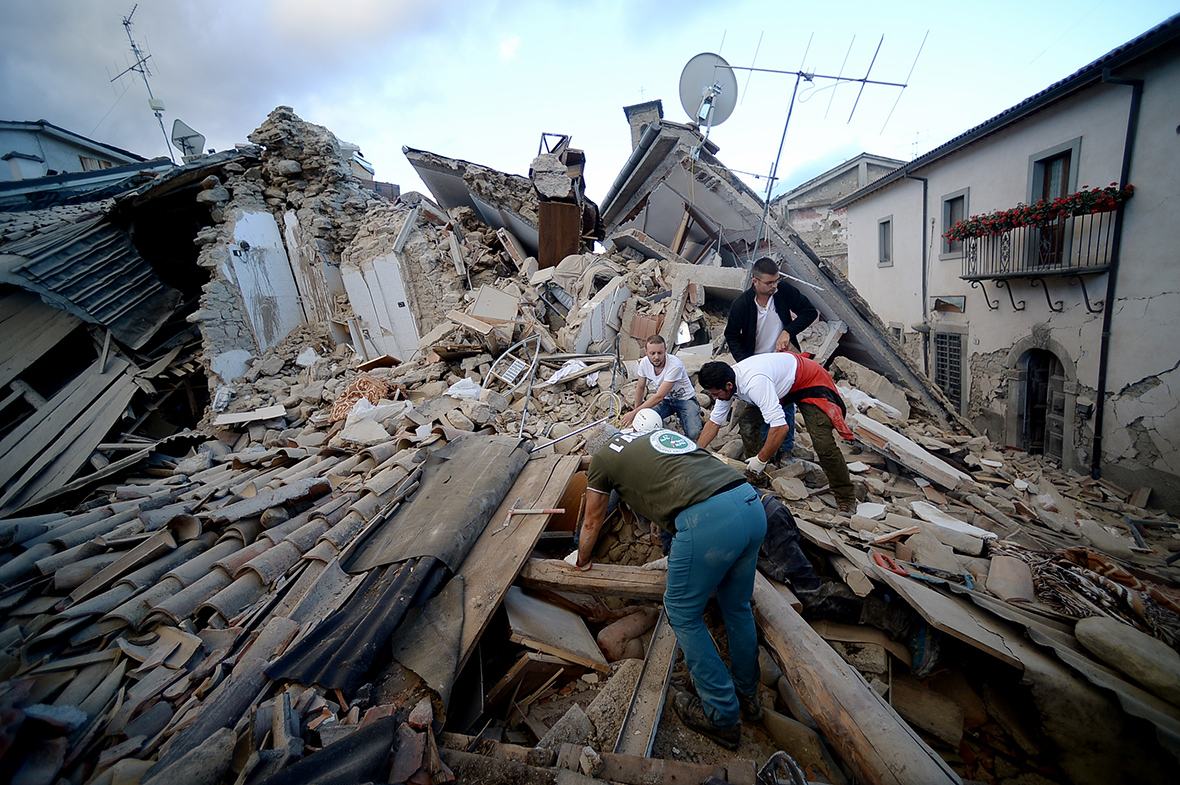 Why does Italy suffer so many earthquakes? How will ... |Italian Earthquake