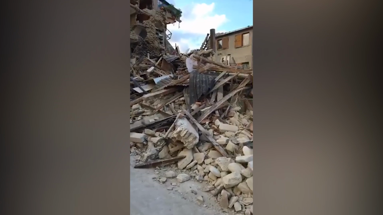 Deadly Earthquake causes severe damage in central Italy