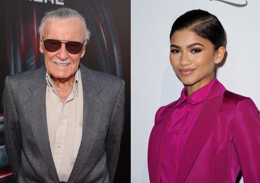 Stan Lee and Zendaya