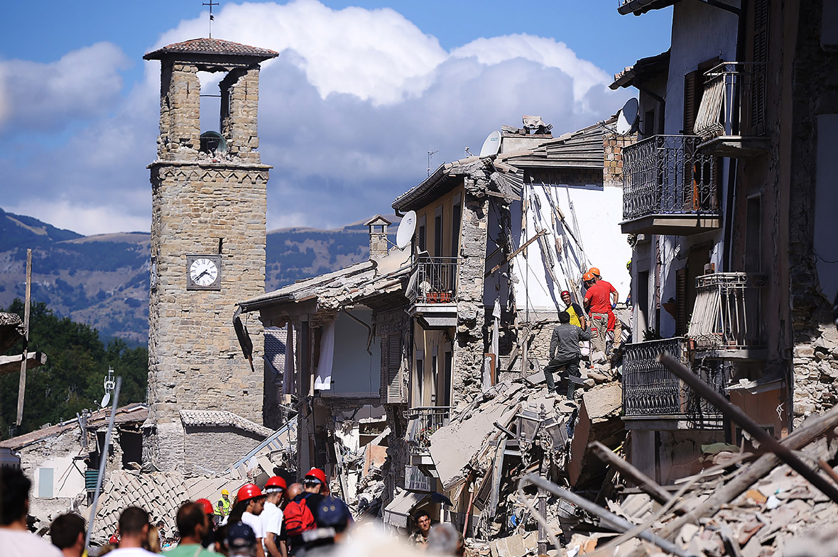 Italy eathquake: 6.2 magnitude, aftershocks and seismic waves