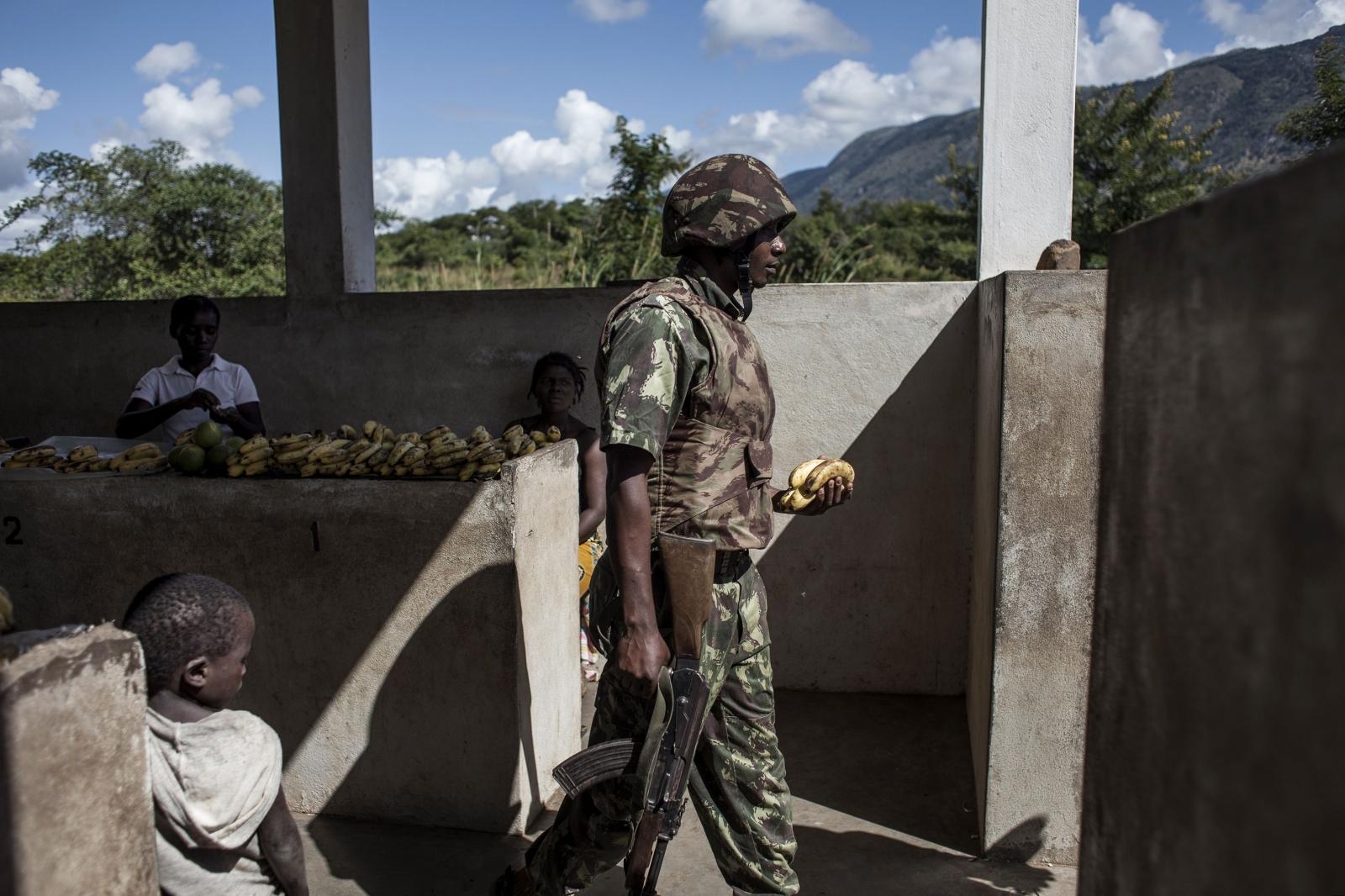 Renamo attacks in Mozambique
