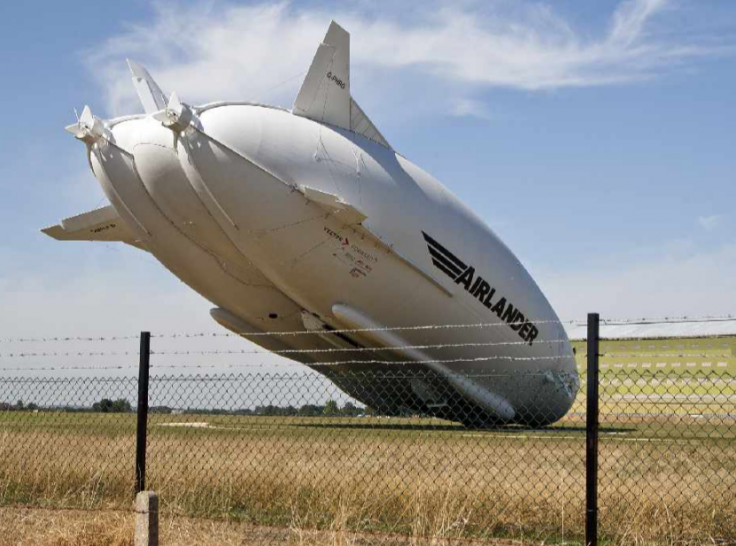 Airlander 10 crash world's biggest aircraft