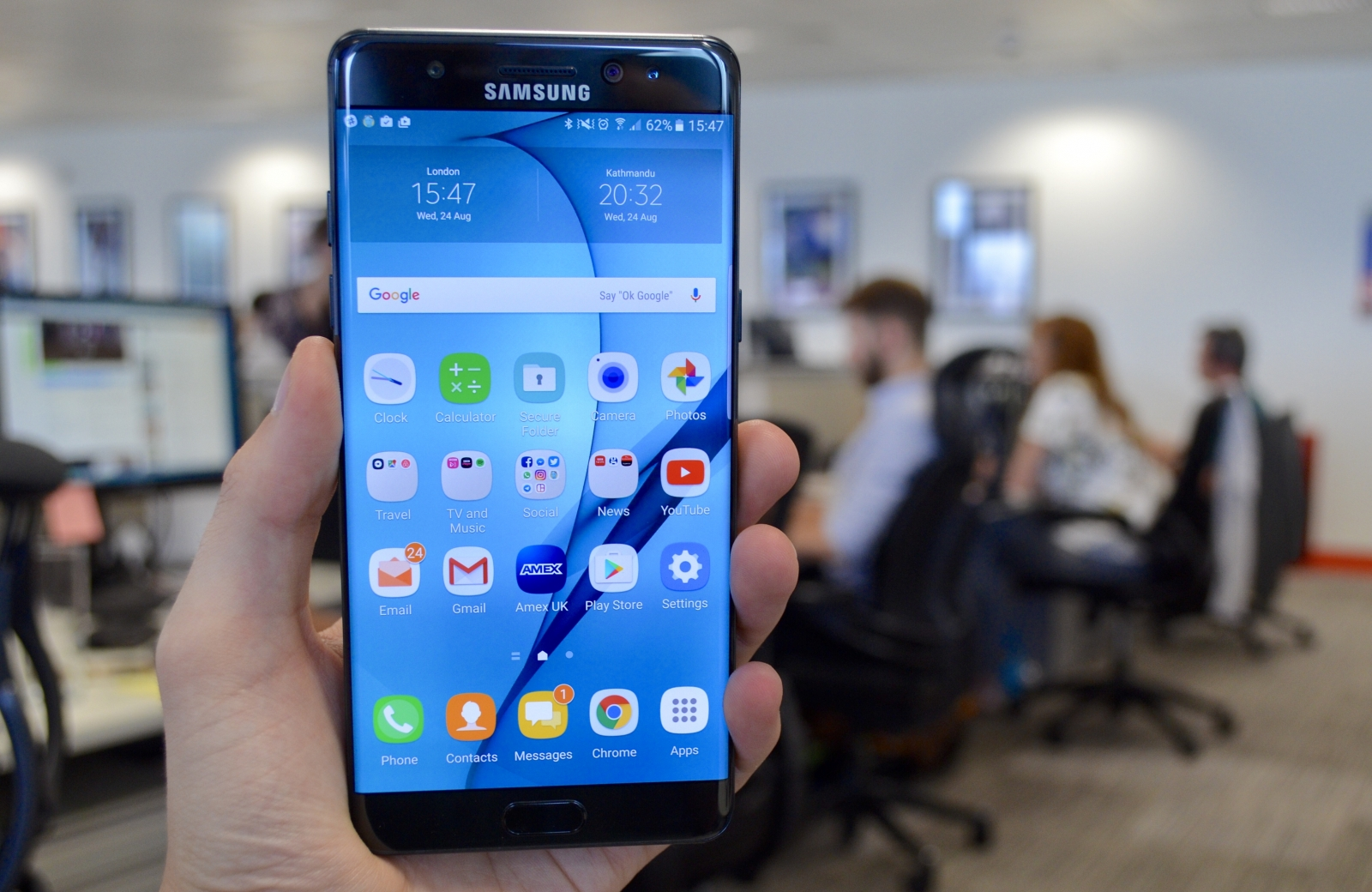 Samsung Galaxy Note 7 review: The best big-screen phone on ...