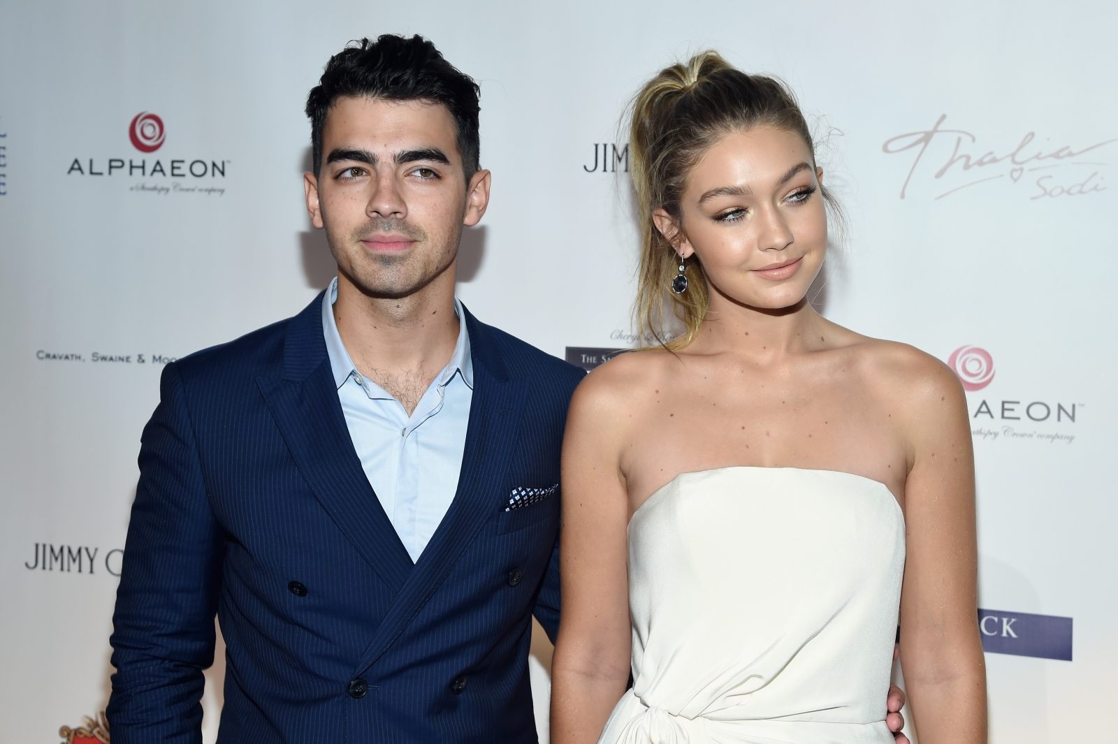 Joe Jonas and Gigi Hadid