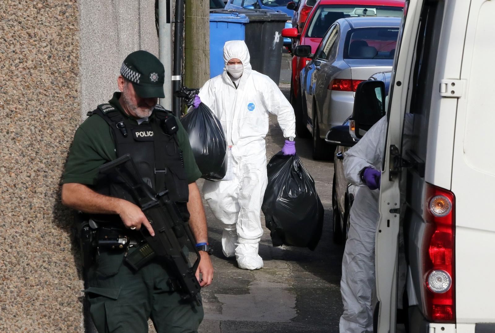Larne terror arrest Ciaran Maxwell