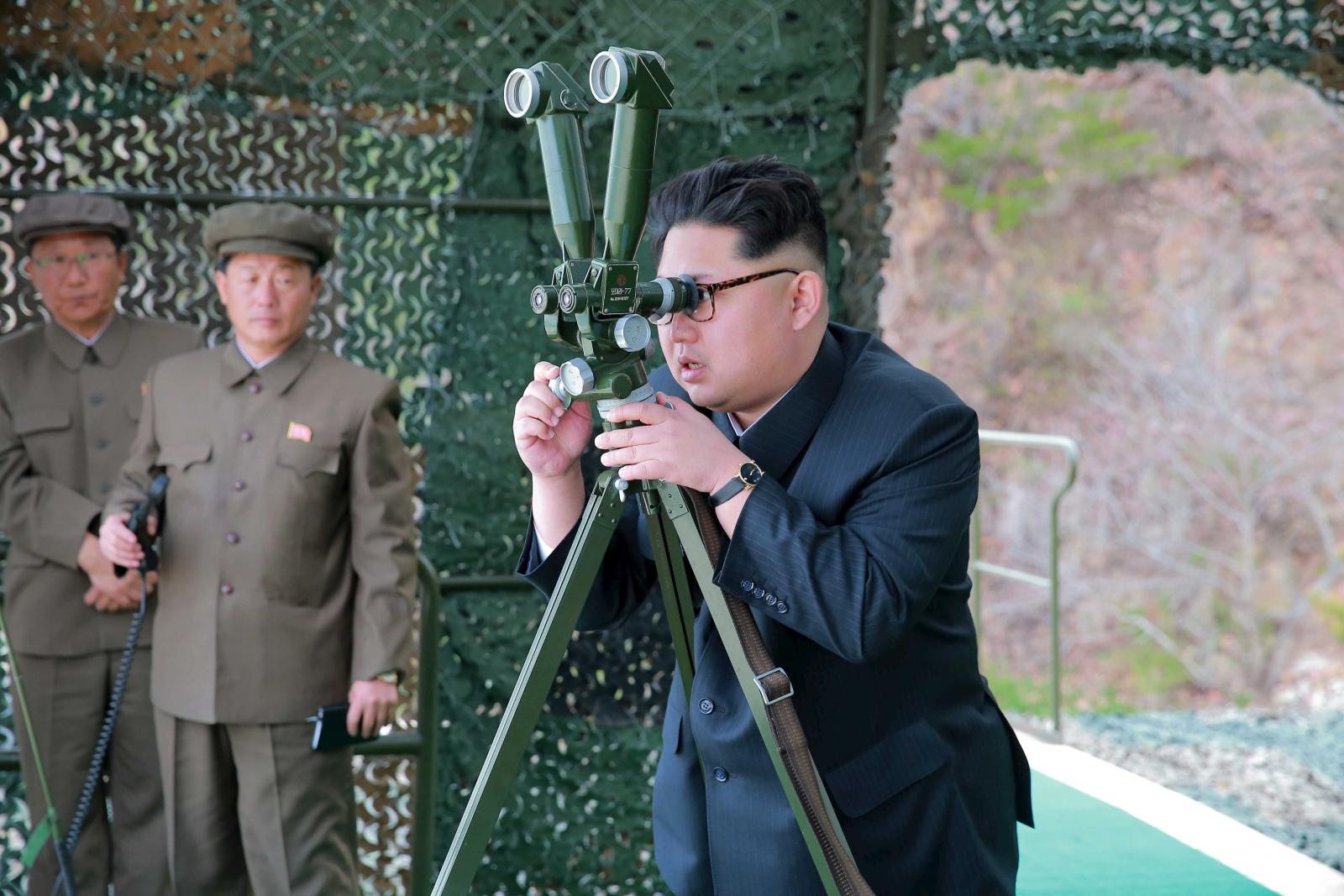 North Korea submarine-launched ballistic missile Kim Jong-un