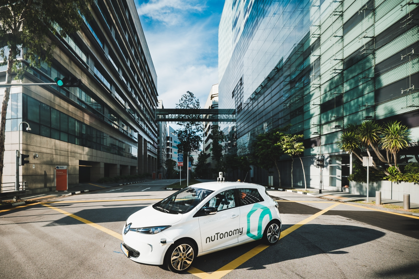First self-driving taxis in Singapore