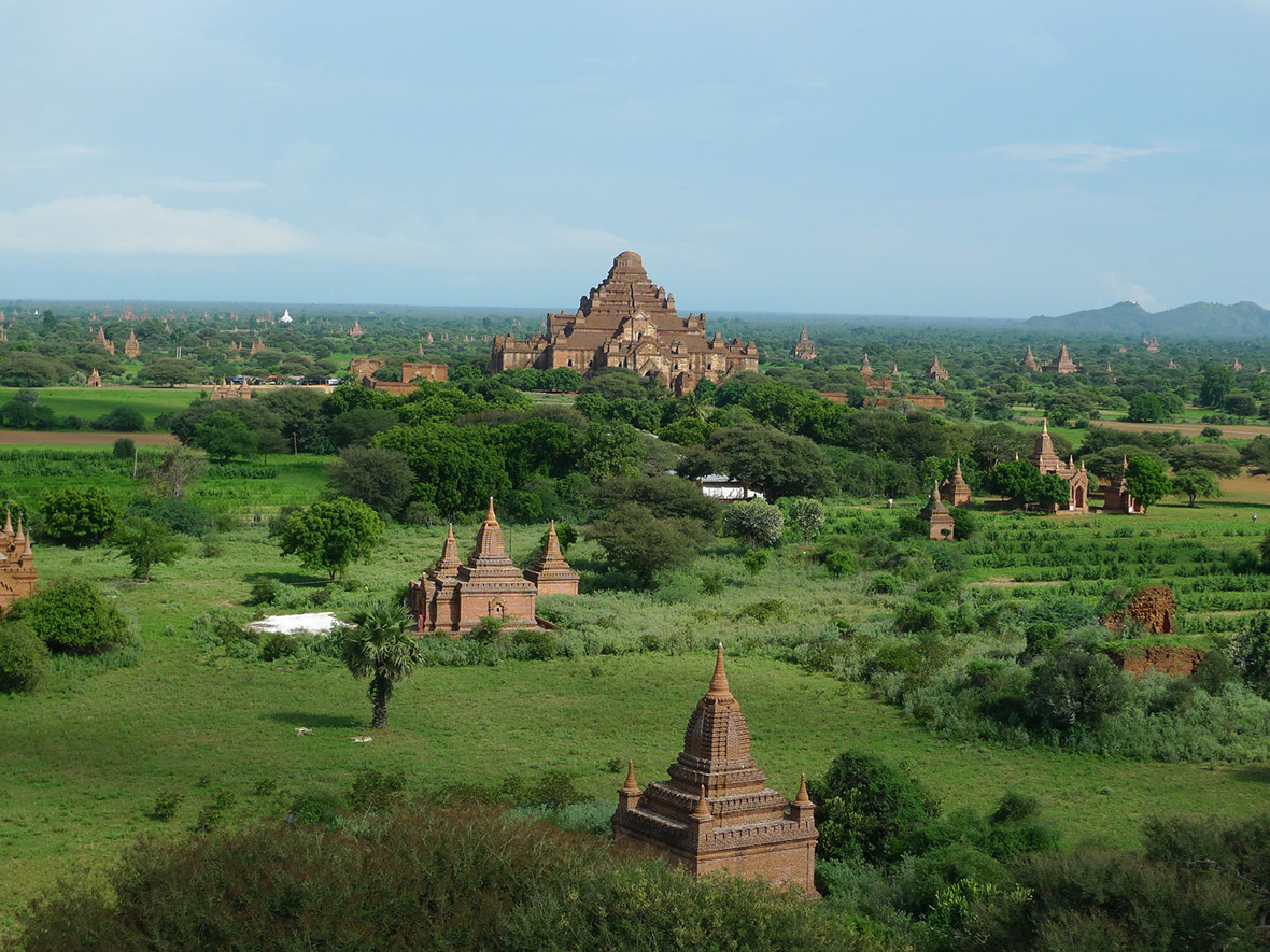 Myanmar Bagan S Ancient Buddhist Temples Damaged By 6 8