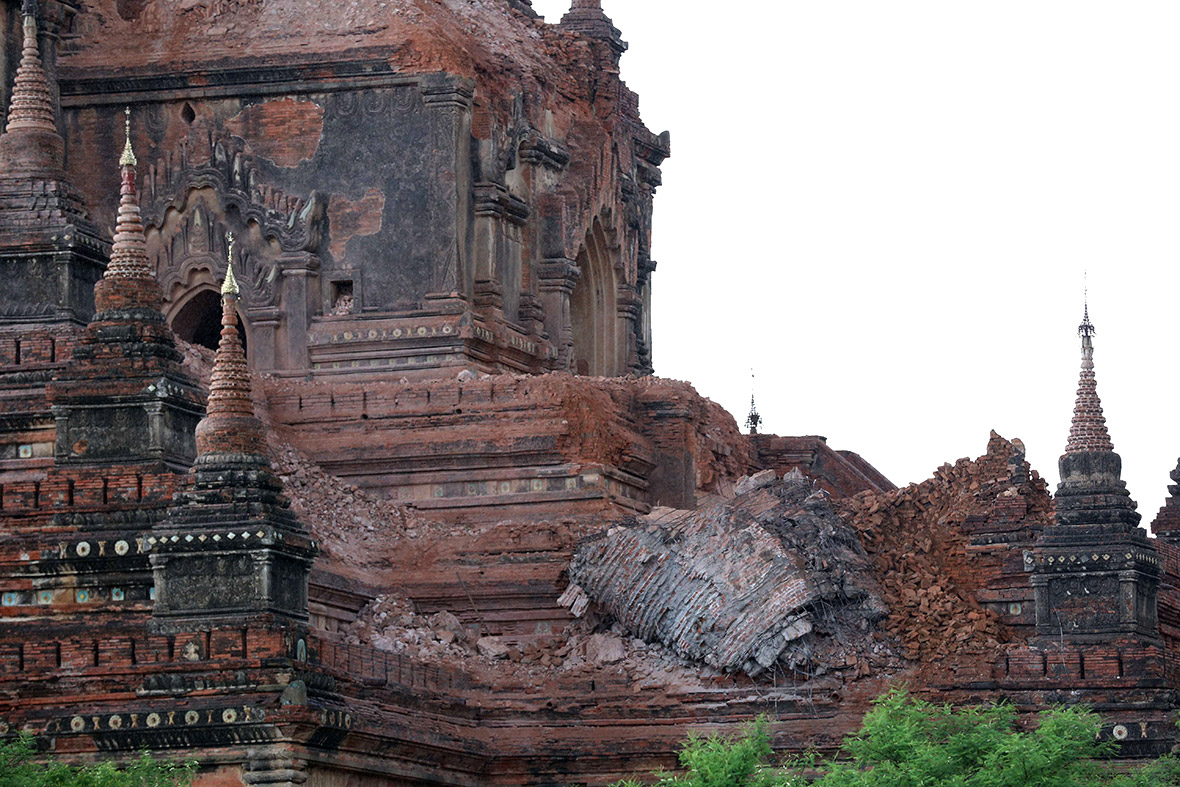 Bagan Myanmar earthquake